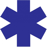 logo bleu ambulance